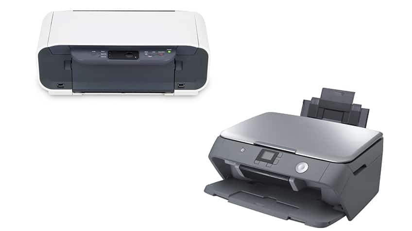 Laser And Inject Printers