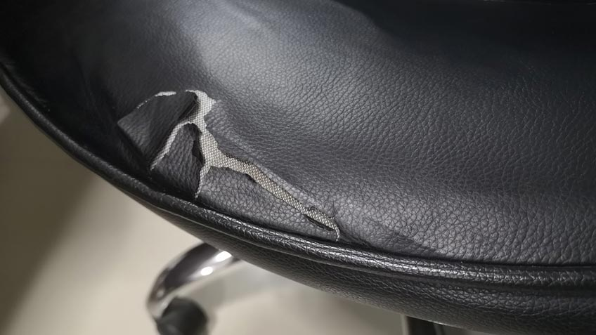 Does Bonded Leather Peel