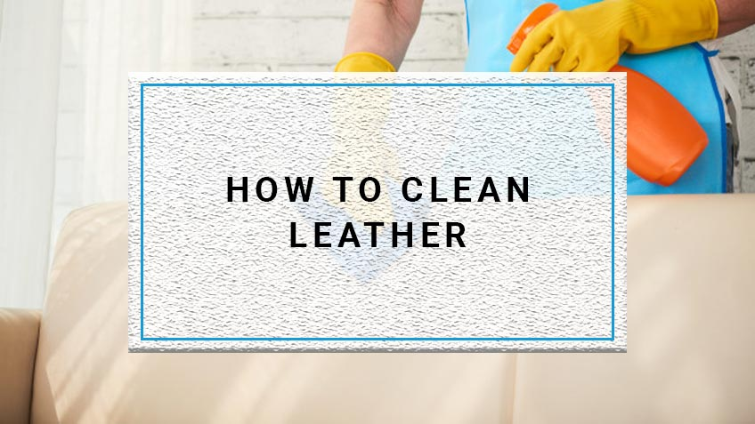 How To Clean Bonded Leather
