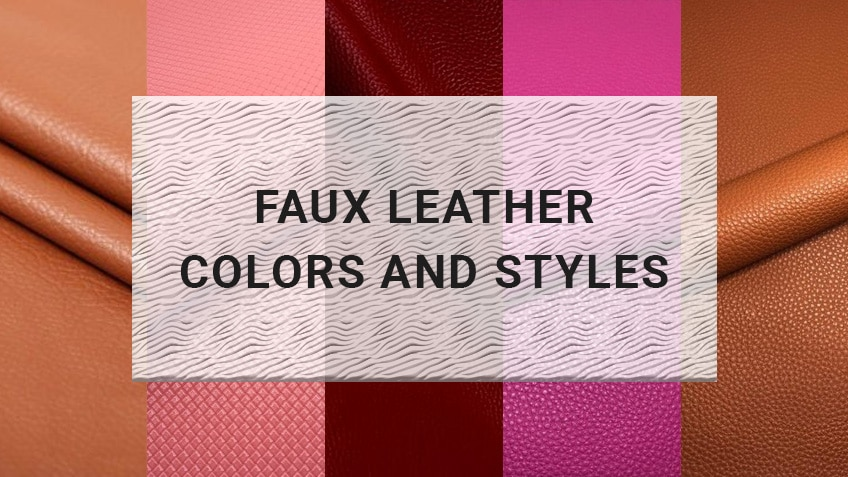 Faux Leather Colors