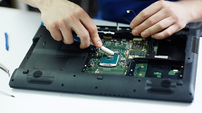 Laptop Assembling
