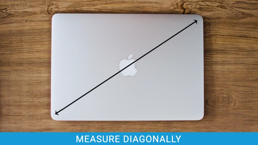 Measure Laptop Diagonally