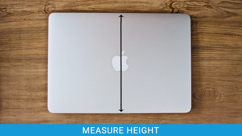 Measure Laptop Height