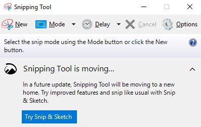Snipping Tool App