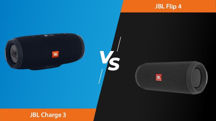 Jbl Charge 3 Vs Flip 4