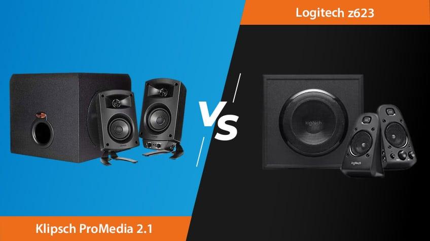 Klipsch Promedia 2.1 Vs Logitech Z623