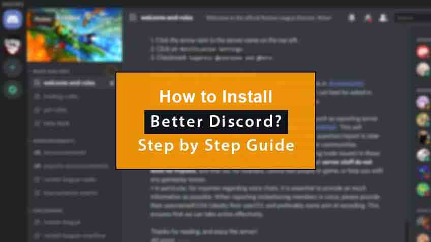 how to use better discord