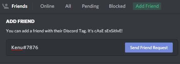 add friends to discord