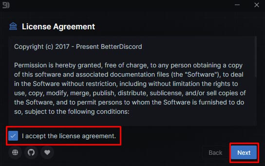 better discord install step 1