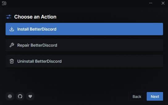 better discord install step 2