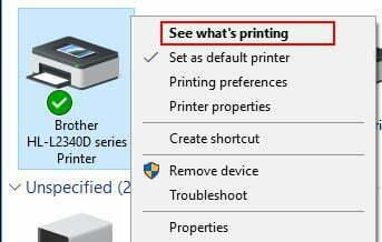 printer see whats printing